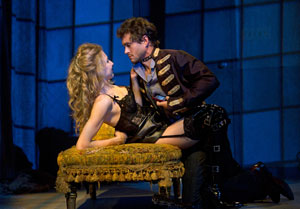 Nina Arianda and Hugh Dancy