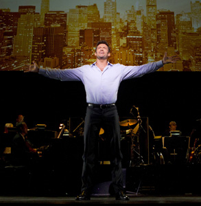 A scene from Hugh Jackman, Back on Broadway
