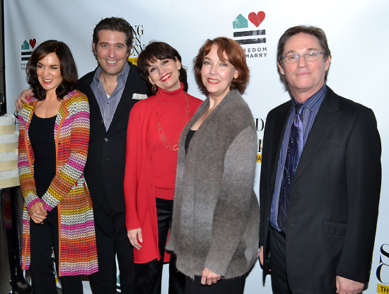 Polly Draper, Craig Bierko, Beth Leavel, Harriet Harris, and Richard Thomas
