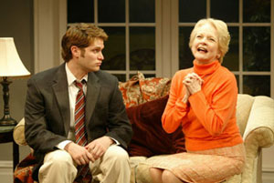 Steven Pasquale and Penny Fuller in Beautiful Child(Photo © Carol Rosegg)