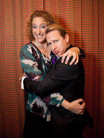 Judy Gold and Carson Kressley