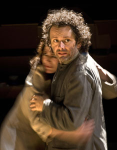 Sally Dexter and Michael Sheen