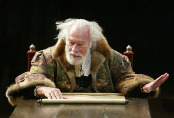 Christopher Plummer in King Lear(Photo © Joan Marcus)