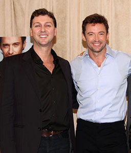 Warren Carlyle and Hugh Jackman