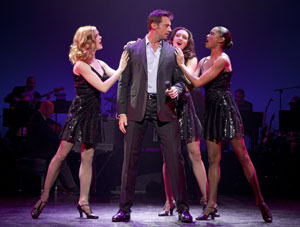 Emily Tyra, Hugh Jackman, Lara Seibert, and