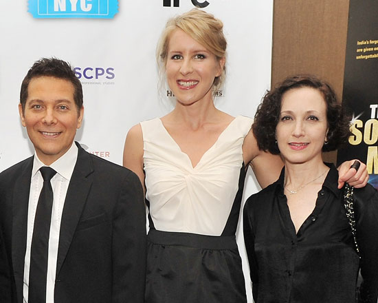 Michael Feinstein, Sarah McCarthy, and Bebe Neuwirth