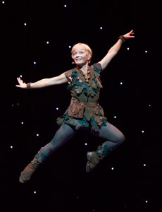 Cathy Rigby in Peter Pan (© Craig Schwartz)