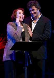 Harriet Harris and Craig Bierko