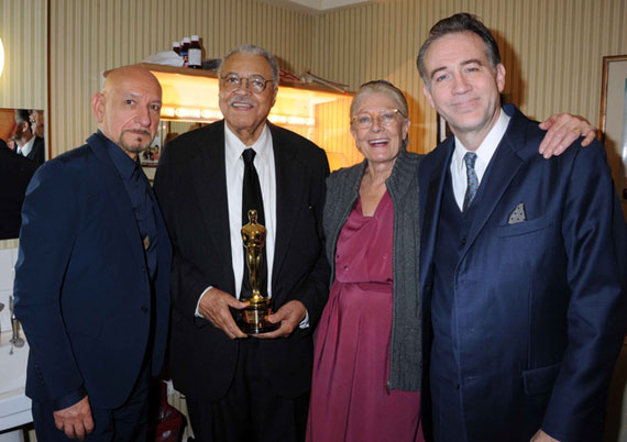 Ben Kingsley, James Earl Jones, Vanessa Redgrave, and Boyd Gaines