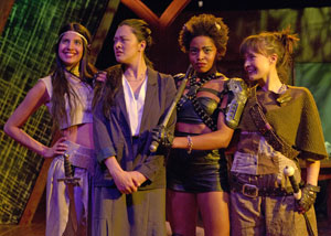 Megha Nabe, Satomi Blair, Margaret Odette