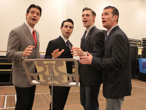 Brandon Andrus, Brad Weinstock, Jason Kappus
