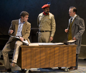 Jeremy Davidson, Gabriel Ruiz, and Jefferson Mays
