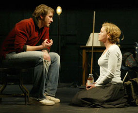 Lee Pace and Ana Reeder in Small Tragedy(Photo © Joan Marcus)