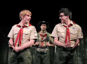 Jay Armstrong Johnson, John Behlmann, and Gideon Glick