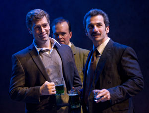 Jeremy Davidson, Jefferson Mays, and Michael Aronov