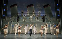 A scene from Anything Goes (© Joan Marcus)