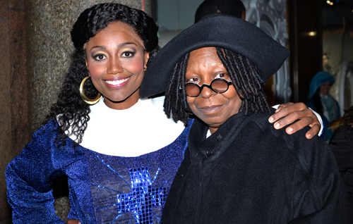 Patina Miller and Whoopi Goldberg