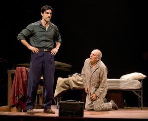 Louis Cancelmi and Michael Cristofer in Captors