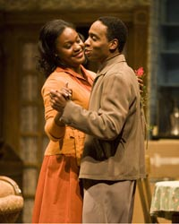 Deidrie Henry and Kevin Carroll