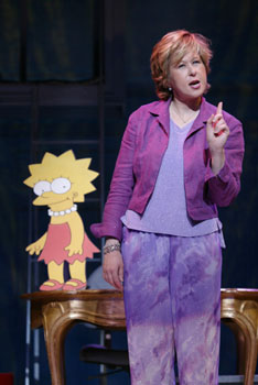Yeardley Smith in More(Photo © Carol Rosegg)