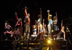 A scene from Rent