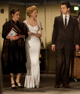 Zoe Wanamaker, Michelle Williams,and Dominic Cooper inMy Week With Marilyn