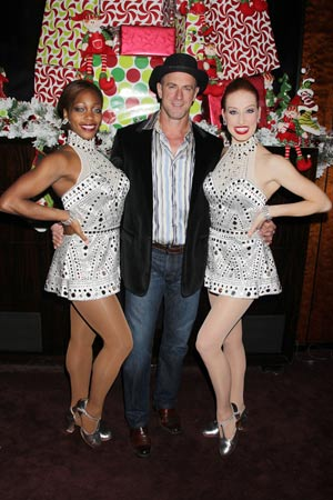 Chris Meloni with Rockettes