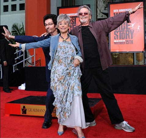 George Chakiris, Rita Moreno and Russ Tamblyn