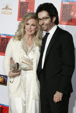 Morgan Fairchild and George Chakiris