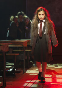 Cleo Demetriou in Matilda the Musical