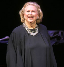 Barbara Cook(Photo © Rahav/Cosi)