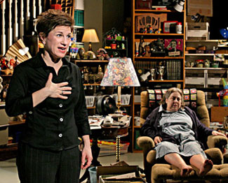 Lisa Kron and Jayne Houdyshell in Well(Photo © Michal Daniel)