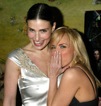 Idina Menzel and Kristin Chenoweth(Photo © Joseph Marzullo)
