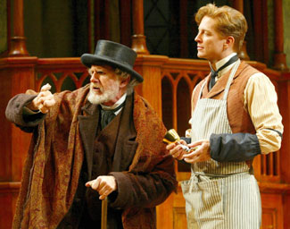 René Auberjonois and Eric Stoltz in Sly Fox(Photo © Carol Rosegg)