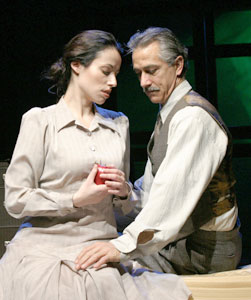 Melissa Friedman and David Strathairnin Hannah & Martin(Photo © Dixie Sheridan)