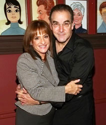 Patti LuPone and Mandy Patinkin (© Tristan Fuge)