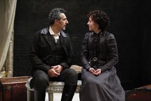 John Turturro and Juliet Rylance in The Cherry Orchard