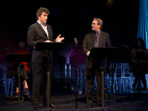 Craig Bierko and Richard Thomas in