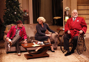 Joseph R. Sicari, Cady Huffman, and Jim Brochu
