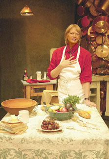 Dorothy Lyman in My Kitchen Wars(Photo © Joan Marcus)