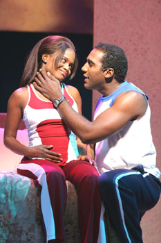 LaChanze and Norm Lewis in Baby(Photo © Jerry Dalia)