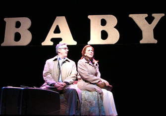 Michael Rupert and Carolee Carmello in Baby(Photo © Jerry Dalia)