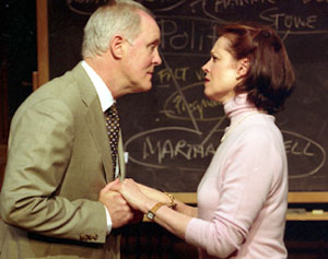 John Lithgow and Sigourney Weaver in Mrs. Farnsworth(Photo © Fabrice Trombert)