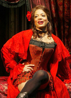 Lauren Velez in Intimate Apparel(Photo © Joan Marcus)