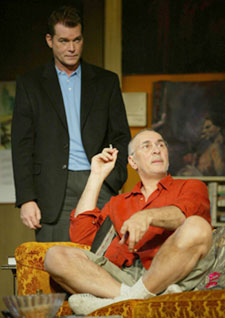 Ray Liotta and Frank Langella in Match(Photo © Joan Marcus)