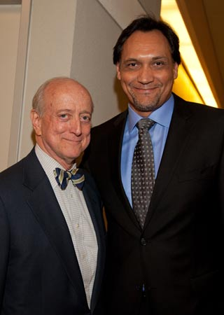 Jimmy Smits (right) with TDF Chair Earl D. Weiner