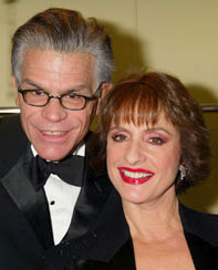 Dick Gallagher and Patti LuPone(Photo © Joseph Marzullo)