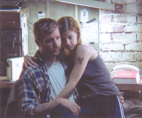 Paul Sparks and Mandy Siegfried in Blackbird(Photo © S. McGee)
