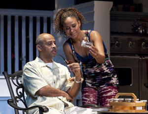 Ruben Santiago-Hudson and Tracie Thoms