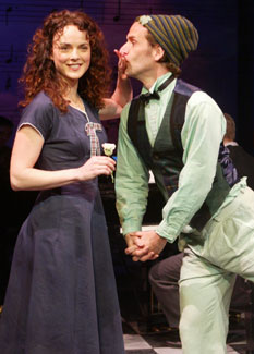Melissa Errico and Malcolm Getsin Finian's Rainbow(Photo © Carol Rosegg)